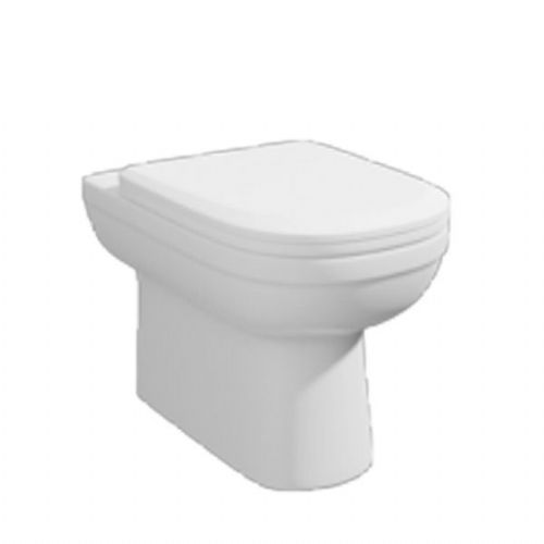 Kartell Lifestyle Back To Wall - Soft Close Seat - White